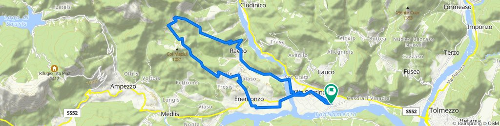 Da Via dei Gelsi 7, Villa Santina a Via dei Gelsi 7, Villa Santina