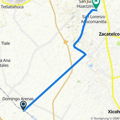 ancisco Villa 18, San Lorenzo Axocomanitla