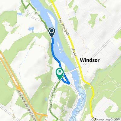 14–56 Rue Greenlay N, Windsor to 23 Rue Valiquette, Windsor