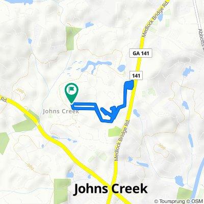 375 Satterwhite Dr, Johns Creek to 375 Satterwhite Dr, Johns Creek