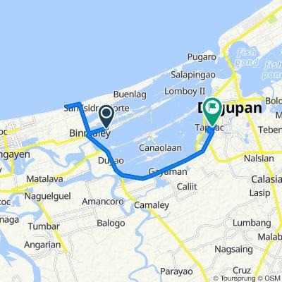 Poblacion Street 124, Binmaley to Nava Street 17, Dagupan