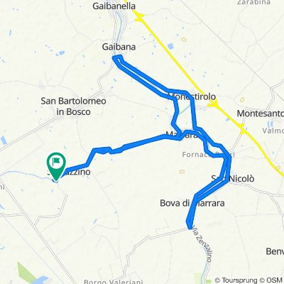 Da Via della Cembalina 175B–187A, Spinazzino a Via del Taglione 3/C, Spinazzino