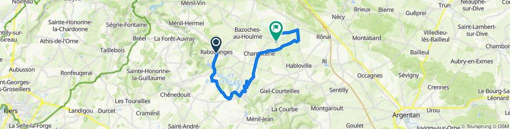 2 Venelle du Lavoir, Rabodanges to D781, Neuvy-au-Houlme