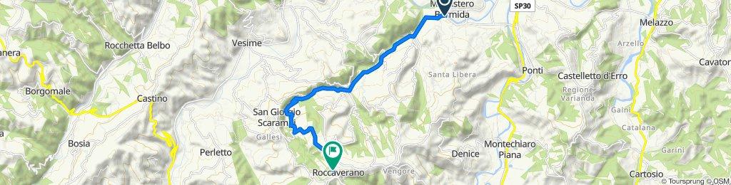 Giro a velocità lenta in Roccaverano