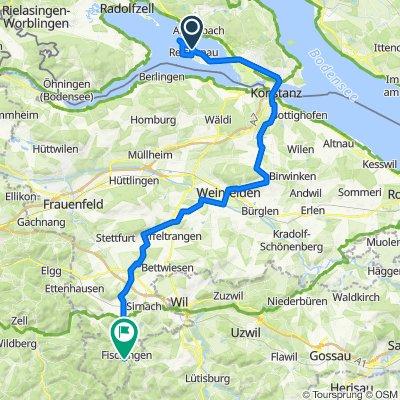 MEINRADWEG - Etappe 3 - Reichenau-Fischingen