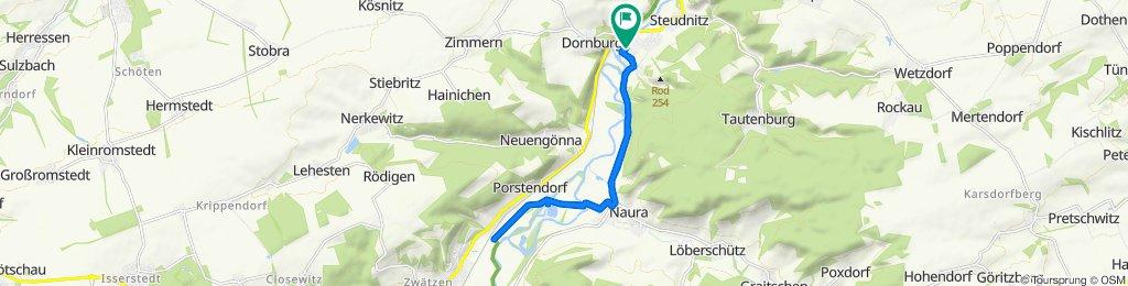Dorndorf /Saale, Markt 4 nach Jena und zurück