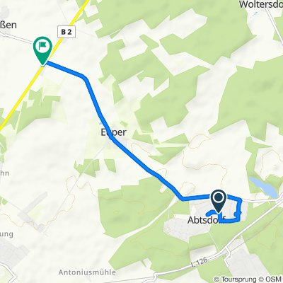 Rotkehlchenweg 19, Wittenberg nach Karlsfeld 6, Wittenberg