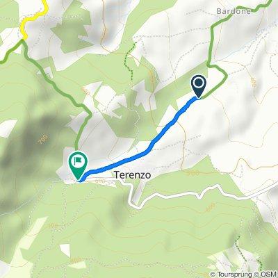 Ruta a SP48, Terenzo