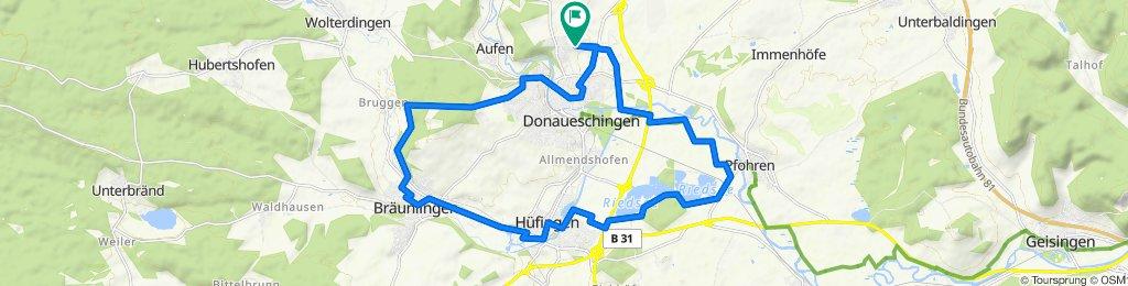 Breslauer Straße 27, Donaueschingen nach Breslauer Straße 27, Donaueschingen
