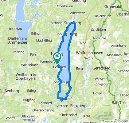 Starnberger See mit Osterseen