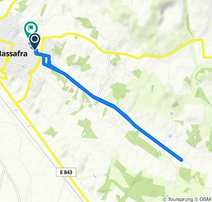 Da Via Brindisi 18/A, Massafra a Via Firenze 52, Massafra