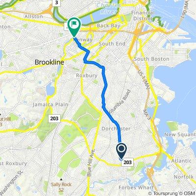 5 Coolidge Rd, Boston to 401 Park Dr, Boston
