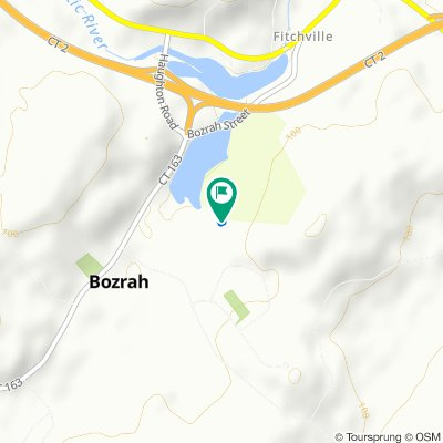 38 Bozrah Street Ext, Bozrah to 38 Bozrah Street Ext, Bozrah