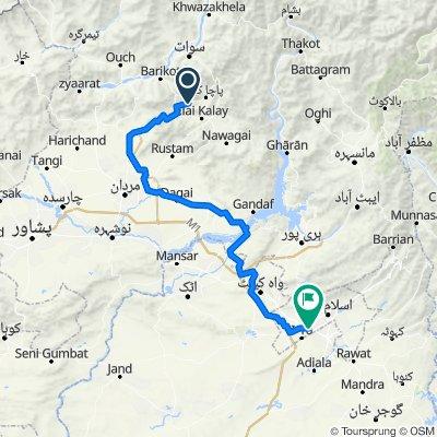 Pirbaba - Malakpur Road, Pir Baba/ Gadaizi to Golra Mor Bus Stop, Islamabad