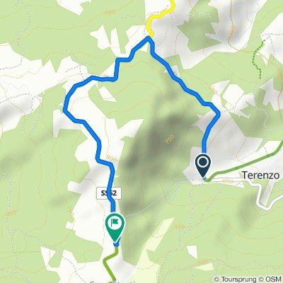 De SP48, Terenzo a Località Case Gandolfi, Terenzo