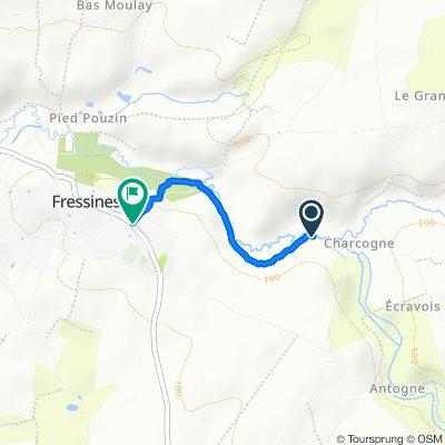 Itinéraire vers 6 Rue de la Bastière, Fressines