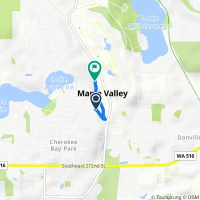 26548 222nd Ave SE, Maple Valley to 26029 222nd Ct SE, Maple Valley