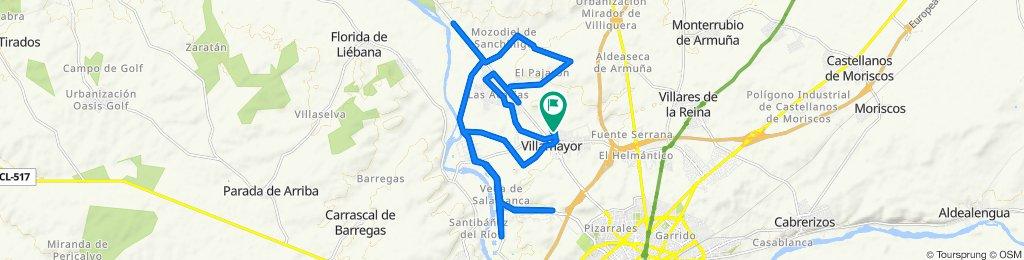 De Calle de la Hacienda, 36, Villamayor a Calle de la Hacienda, 36, Villamayor