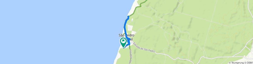 Rua Doutor Artur Neto Barros 1, Marinha Grande to Rua Doutor Artur Neto Barros 1, Marinha Grande