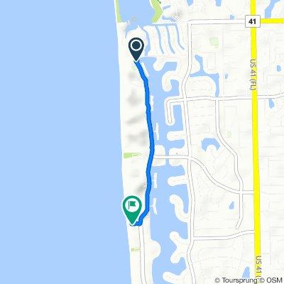 4957–4971 Gulf Shore Blvd N, Naples to 1–99 Horizon Way, Naples