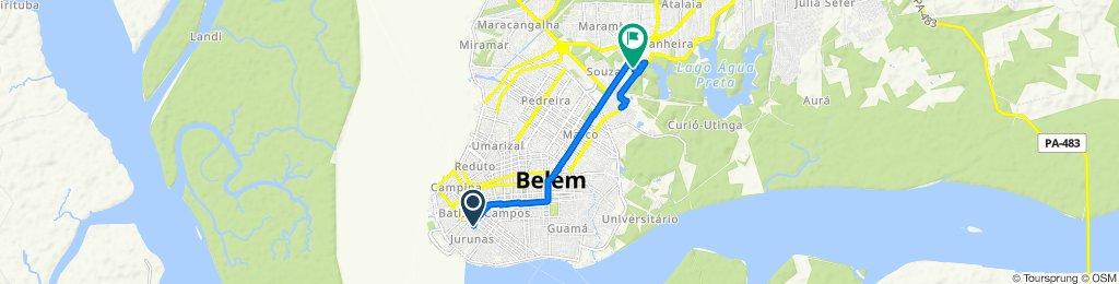 De Avenida Roberto Camelier 334 a Passagem Eládio Lima 53