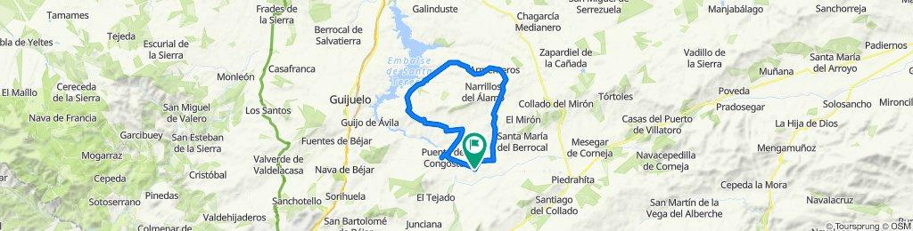 De Calle Abajo 20, Navamorales a Calle Cruz de Blanco 8, Navamorales