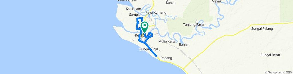 Jalan Jendral Sudirman 9, Delta Pawan to Jalan Ade Irma Suryani 7, Delta Pawan