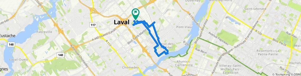 1658 Av Massenet, Laval to 1659 Av Massenet, Laval