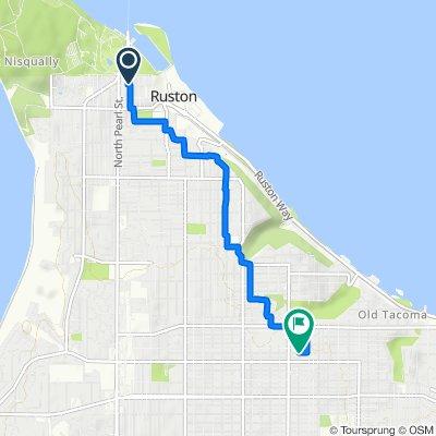5311 N Highland St, Ruston to 2709 N Adams St, Tacoma
