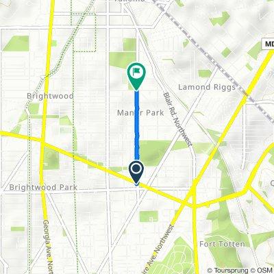 5500–5598 Third St NW, Washington to 300–330 Sheridan St NW, Washington