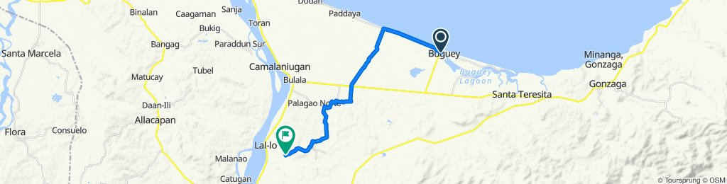 Enrile Street, Buguey to Unnamed Road, Lal-lo