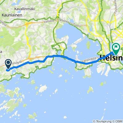 Fast ride in Helsinki