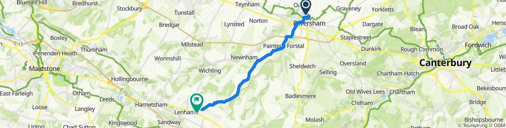 8 Sevenacre Road, Faversham to Hubbards Hill, Maidstone