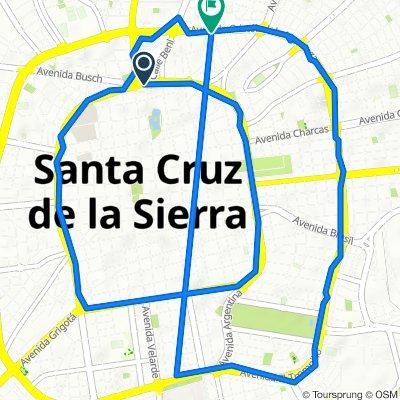 De Beni 787, Santa Cruz de la Sierra a Calle Abuna # 562, Santa Cruz de la Sierra