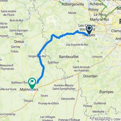 Itinéraire vers 9 Rue de la Mairie, Chartres