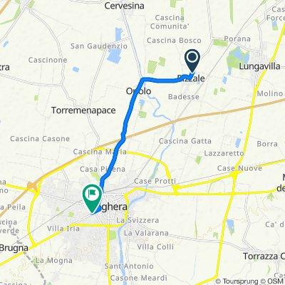 Da Via Ferraris 65, Pizzale a Via Fratelli Roselli 21–39, Voghera
