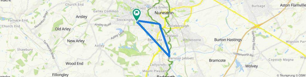 Huntingdon Way 2 to Huntingdon Way 5