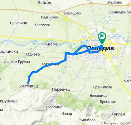 Пловдив - Брестовица - Пловдив