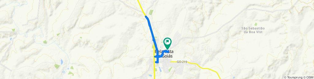 20 km - Asfalto
