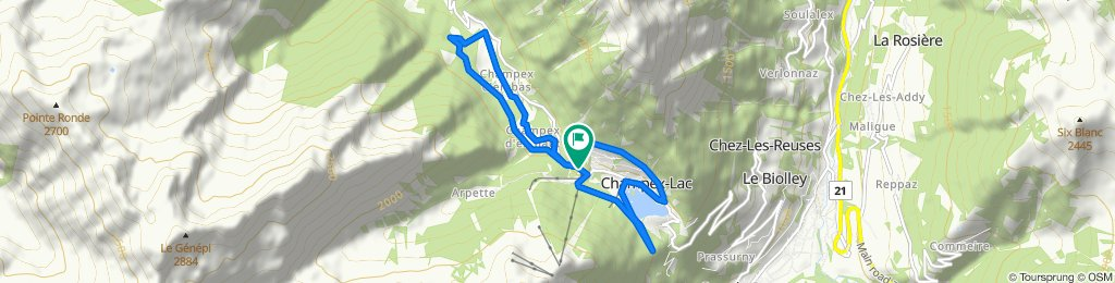Route 193 - Champex