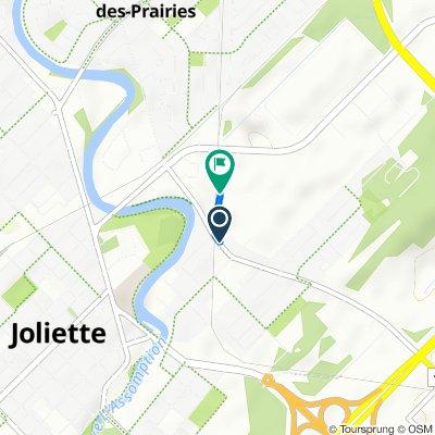 168 Rue Gauthier S, Joliette to 939 Boul Firestone, Joliette