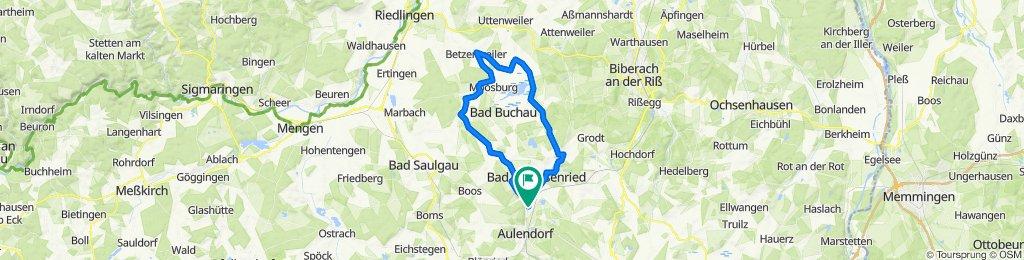 Hauptstraße 46, Bad Schussenried nach L284 49, Bad Schussenried
