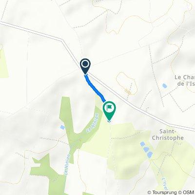 De D76, Laurenan à Le Barillet, Laurenan