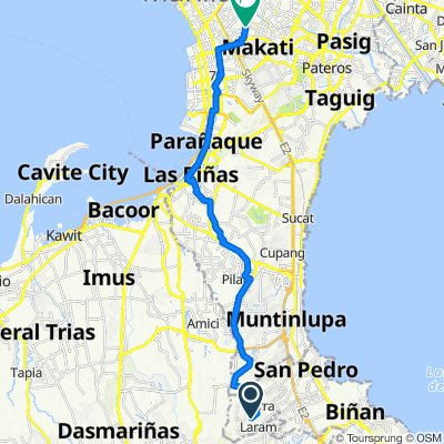 San Pedro to Visita 3141, Makati