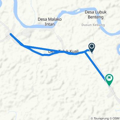 Jalan Padang Lamo, Tebo Ulu to Jalan Padang Lamo, Tebo Ulu