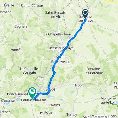 j4 bis : Savigny-sur-Braye à Couture-sur-Loir