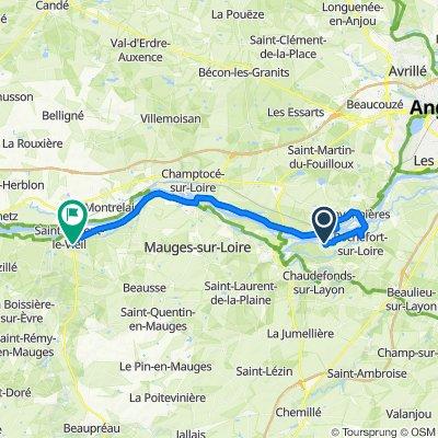 Loire à vélo - Etape 3