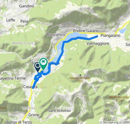 Da Via XXV Aprile 20A, Spinone Al Lago a Via dei Panni 4, Spinone Al Lago