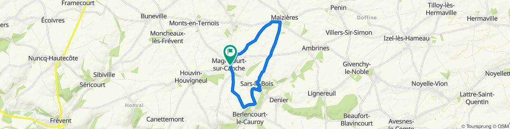 De 8 Rue de la Canche, Magnicourt-sur-Canche à 8 Rue de la Canche, Magnicourt-sur-Canche