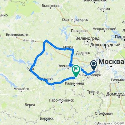 истра - руза 200 км